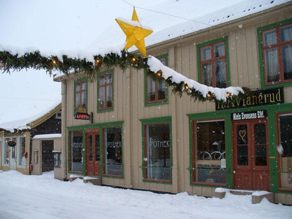 Миниатюрная центральная улица Лиллехаммера / Фото из Норвегии