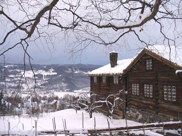 Из парка Майхауген открывается вид на долину Лиллехаммера / Фото из Норвегии