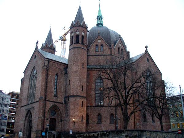 Церковь XIX века, Осло / Фото из Норвегии