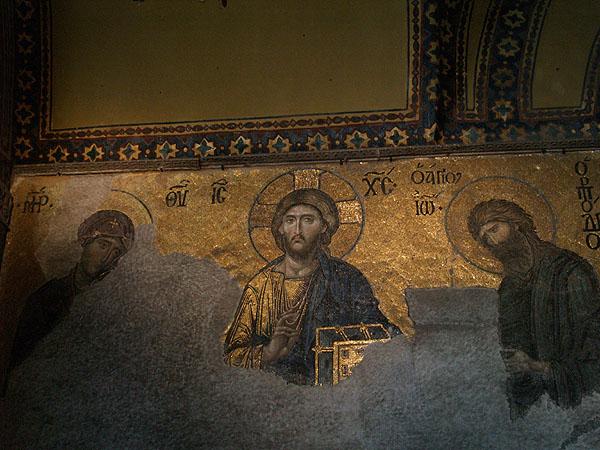 Святая Троица в мозаике / Фото из Турции