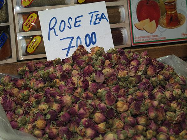 Сушеные цветки розы / Фото из Турции
