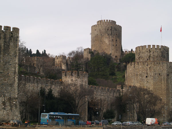 Крепость Румели-Хисары (Европейская крепость) / Фото из Турции