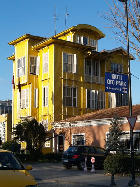 Здание туристической полиции / Фото из Турции