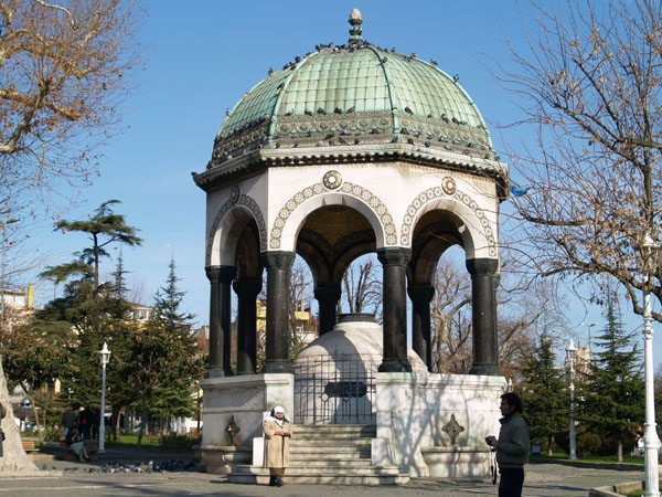 Немецкий фонтан / Фото из Турции