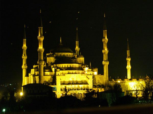 Голубая мечеть с высоты птичьего полета / Фото из Турции