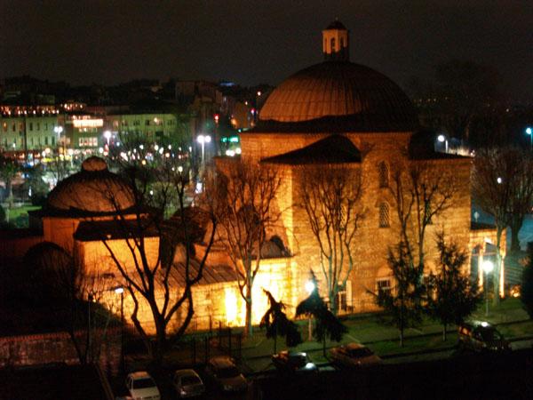 Из окон ресторана Seven Hills / Фото из Турции