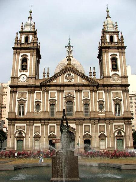 Церковь канделария в центре рио фото
