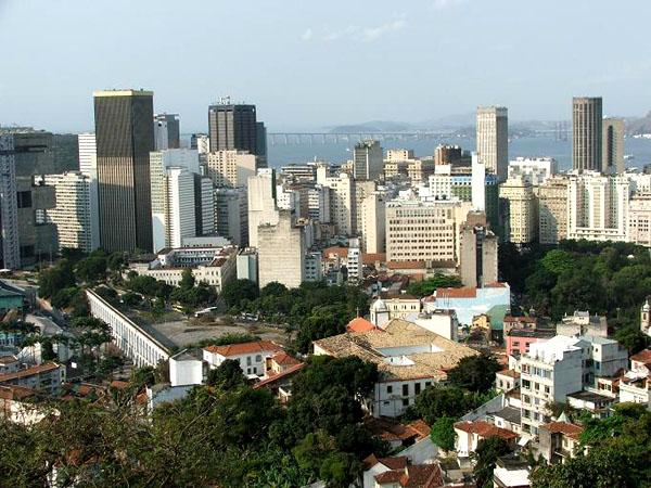 Небоскребы в центре Рио-де-Жанейро / Фото из Бразилии