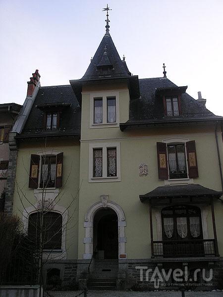 Дом-дворец - принадлежит одному из докторов / Фото из Франции