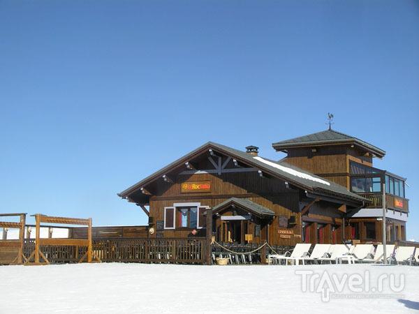 Ресторан-шале на вершине горы / Фото из Франции