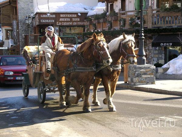 Карета с лошадьми / Фото из Франции