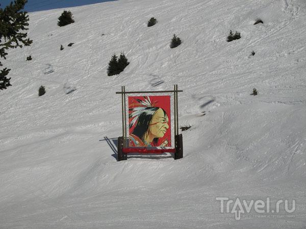 Индейцы на трассе / Фото из Франции