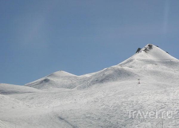 Снежные пирамиды / Фото из Франции