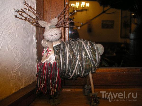 Веревочный олень / Фото из Франции