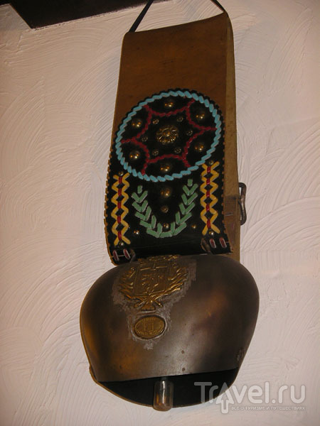 Колокол - символ Савойи / Фото из Франции