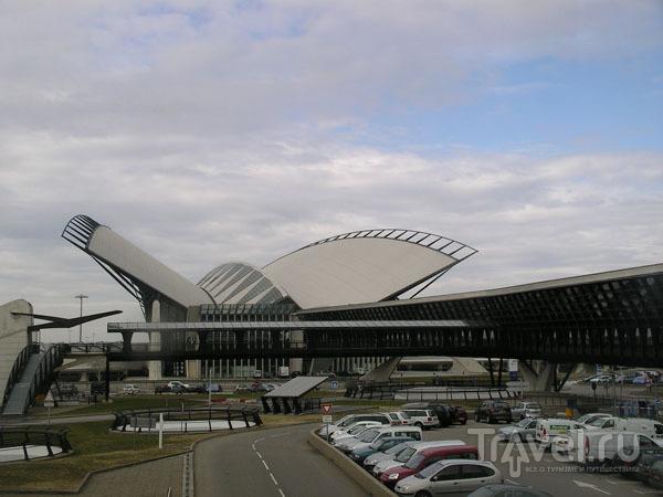 Saint Exuprery - аэропорт Лиона / Фото из Франции