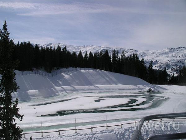 Озеро в горах / Фото из Франции