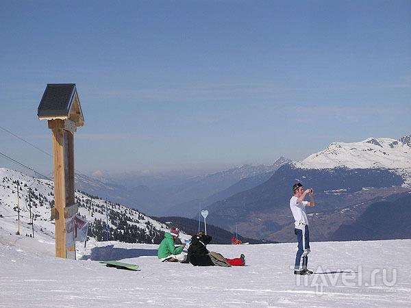 На вершине горы - настоящий курорт / Фото из Франции