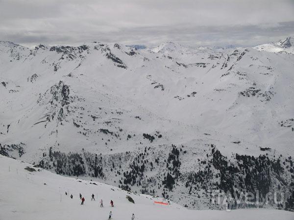 Пасмурный день в горах / Фото из Франции
