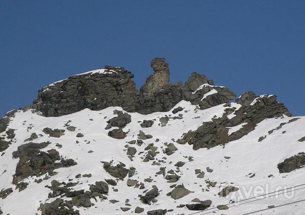Причудливые очертания горных вершин / Фото из Франции