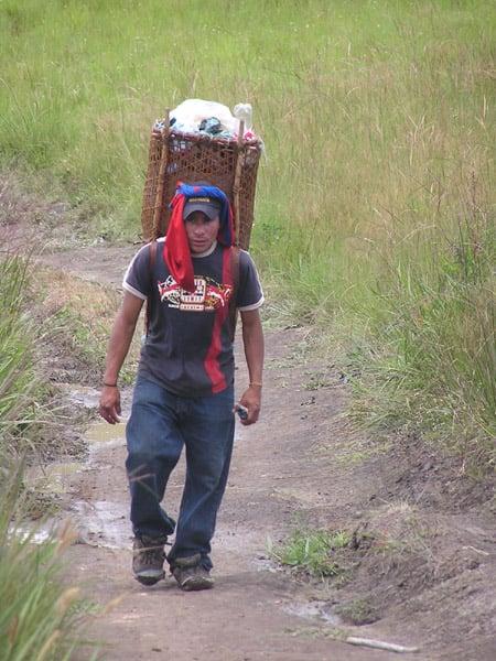 Наш гид во время восхождения / Фото из Венесуэлы