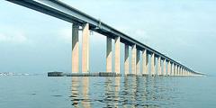 Мост на курортный остров хайнань