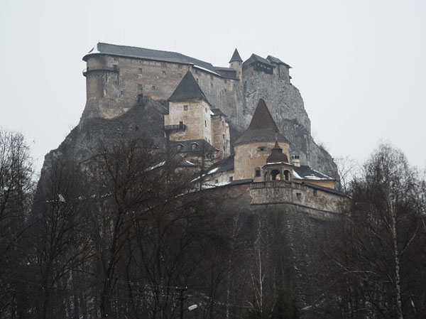 Оравский замок, Словакия / Фото из Словакии