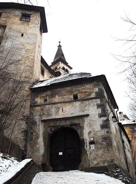 Войти в замок нам не удалось... / Фото из Словакии