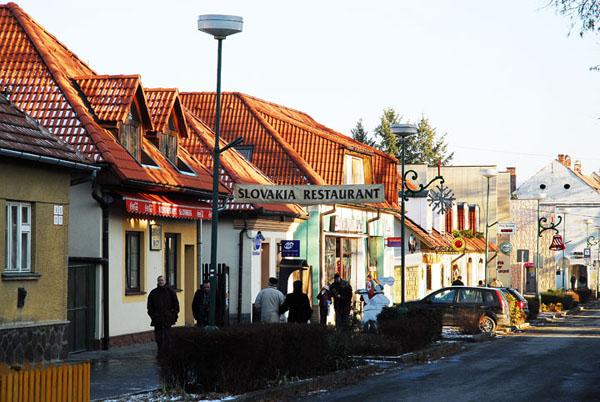 Красивые улочки словацкого городка Бойнице / Фото из Словакии
