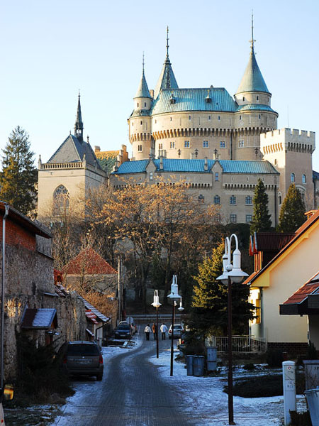 Бойницкий замок - словно из сказки / Фото из Словакии