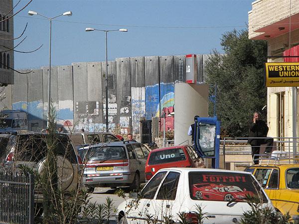 """""""Великая израильская стена"""" - условная граница с Палестиной / Фото из Израиля"""