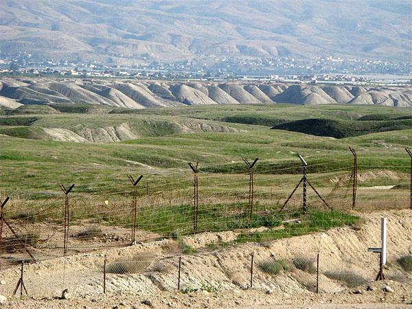 Граница Израиля и Иордании / Фото из Израиля