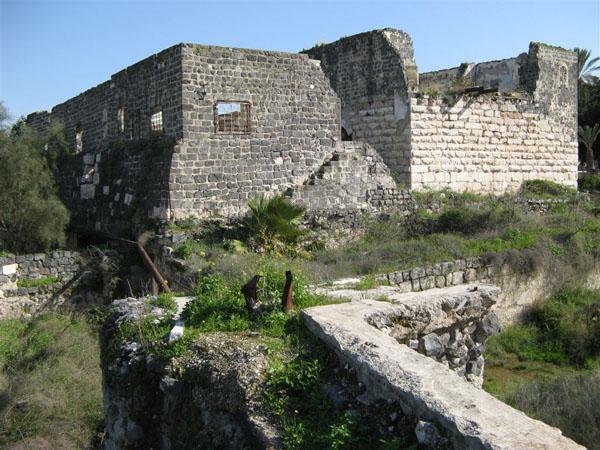 Турецкая крепость, Бейт-Шин / Фото из Израиля