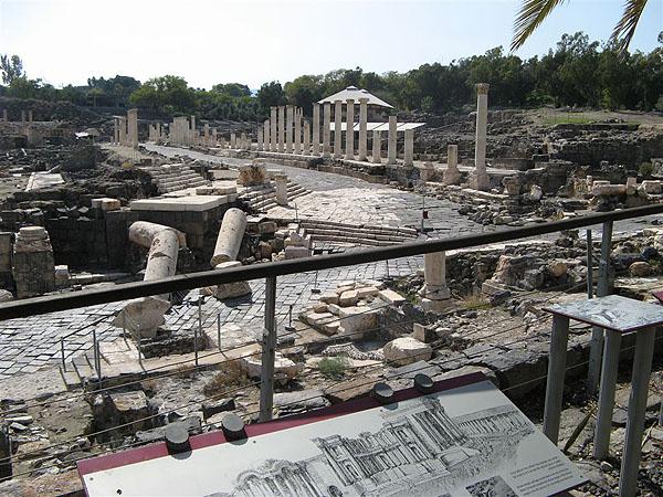 Древние монументы, Бейт-Шин / Фото из Израиля