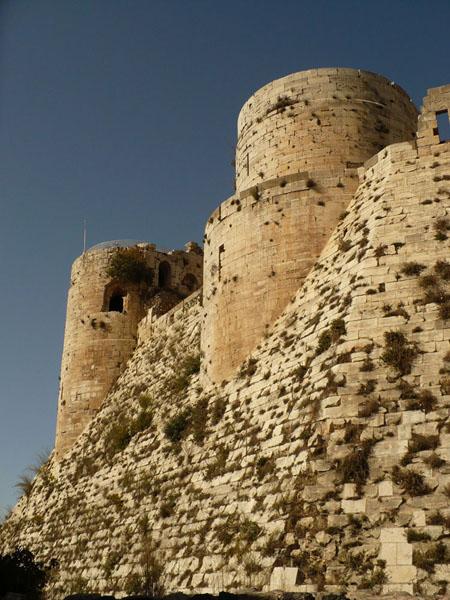 Замок Крак-де-Шевалье / Фото из Сирии