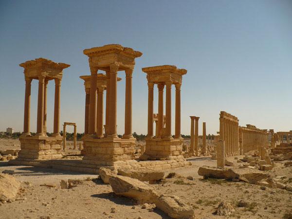 Центр Пальмиры / Фото из Сирии
