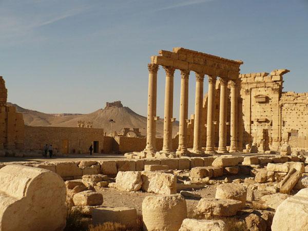 Развалины Пальмиры / Фото из Сирии
