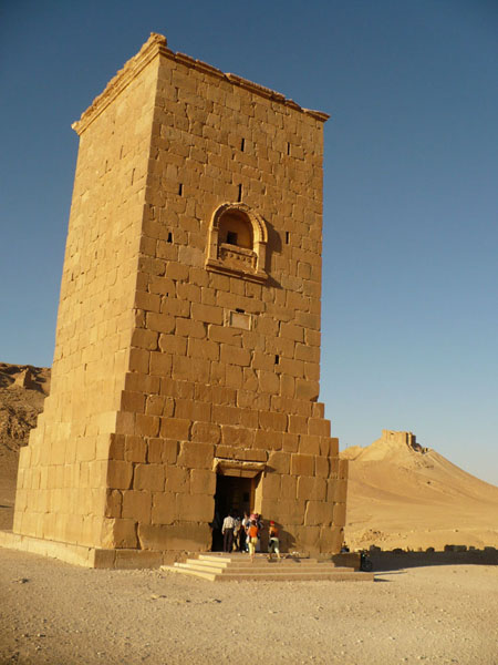 Башня-гробница, Пальмира / Фото из Сирии
