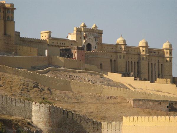 Дворец Амер, Индия / Фото из Индии