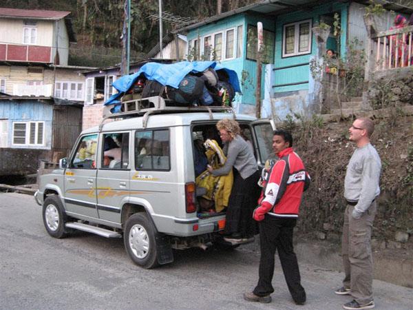 Основное средство передвижения в горных районах / Фото из Индии