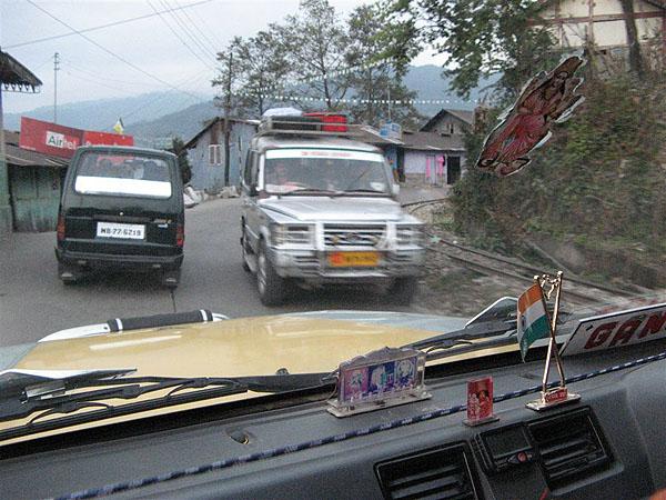 Горные дороги, Западная Бенгалия / Фото из Индии
