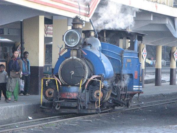 Вокзал в Дарджилинге / Фото из Индии