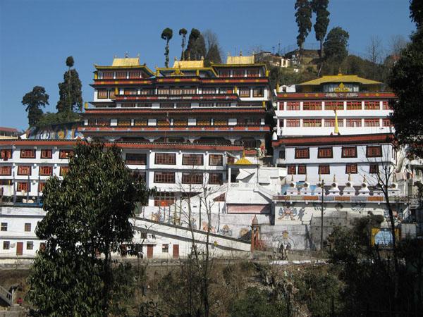 Буддистский монастырь, Дарджилинг / Фото из Индии