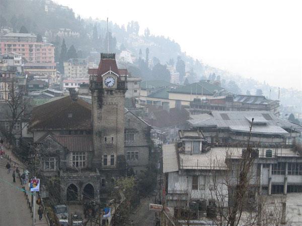 В городе Дарджилинг / Фото из Индии