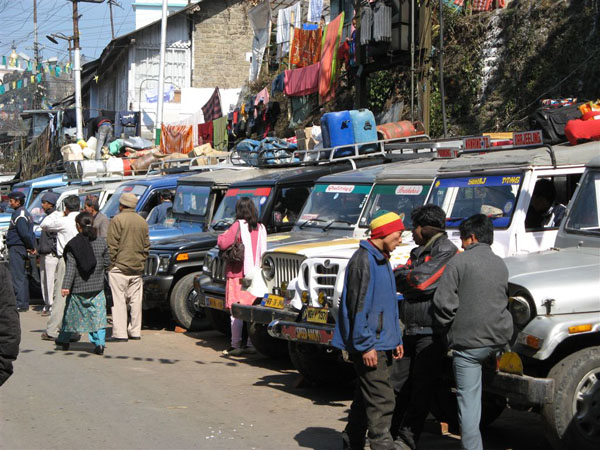 На улицах Дарджилинга / Фото из Индии