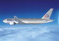 самолет American Airlines в ливрее oneworld
