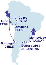 Проездной по Южной Америке