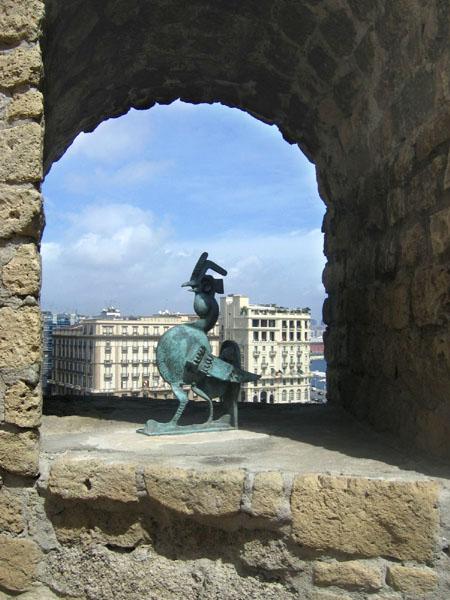 """Вид из крепости на отель """"Санта-Лючия"""" / Фото из Италии"""