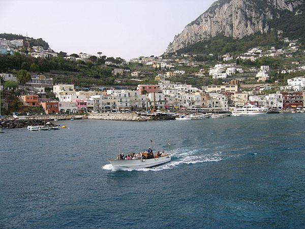 Бухта Капри / Фото из Италии