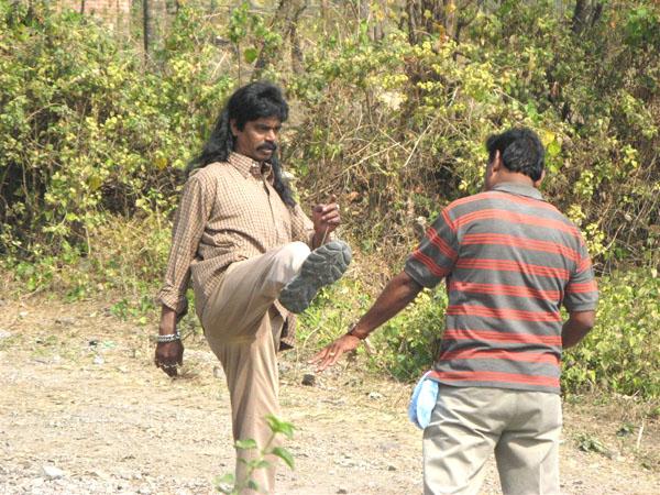 Сцена драки - как в любом индийском фильме / Фото из Индии